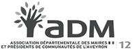 ADM 12 Association Départementale des Maires et présidents de Communauté de l'Aveyron