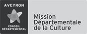 Aveyron conseil départemental Mission Départementale de la Culture