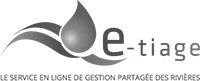 e-tiage le service en ligne de gestion partagée des rivières